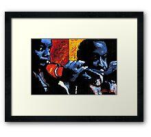 Jazz Trumpeters  Framed Print