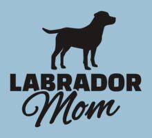 Labrador Mom Baby Tee