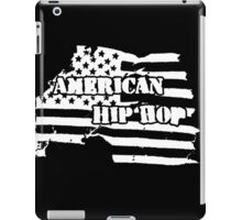 American Hip Hop (White) iPad Case/Skin