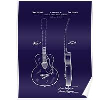 Gretch Guitar 1941 Patent Poster