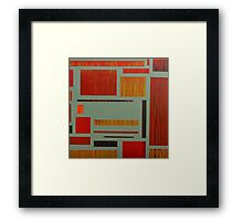 Fireboxes Framed Print