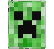 Creeper face - Minecraft iPad Case/Skin