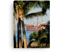 Rum Runners & Pirates Canvas Print