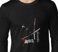 cutting edge for darker shirts Long Sleeve T-Shirt