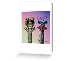 Me and My Mate Greeting Card