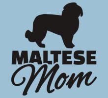 Maltese Mom One Piece - Short Sleeve
