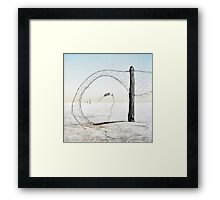 Lake Eyre II - Magic Circle Club Framed Print