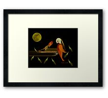 MOLTING Framed Print