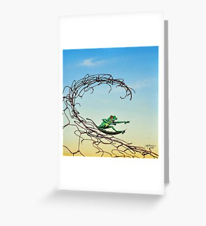 Surfin' the Net Greeting Card