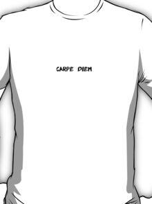 Carpe Diem Scrawl T-Shirt