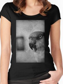 the gallerist Women's Fitted Scoop T-Shirt