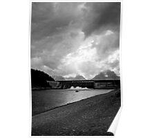 Jackson Lake Dam Poster