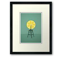 Lemon (Du)Champ Framed Print