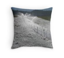 'Spring'-klers Throw Pillow