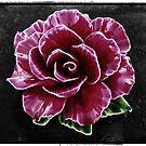 Ceramic Rose Flower by fantasytripp