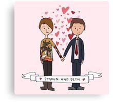 Seth & Stefon Canvas Print