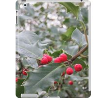 Winter Holly Berries iPad Case/Skin