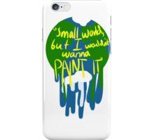 Small world iPhone Case/Skin