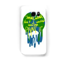 Small world Samsung Galaxy Case/Skin