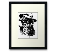 Mos Definitely Framed Print