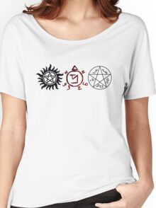 Supernatural Symbols Women's Relaxed Fit T-Shirt