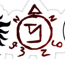 Supernatural Symbols Sticker
