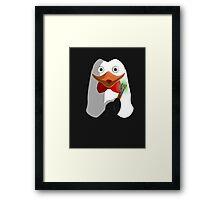 Doctor Penguin Framed Print