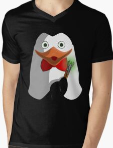 Doctor Penguin Mens V-Neck T-Shirt