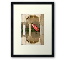 Zero Gravity Desi Dancing Framed Print