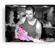 The Music Man Canvas Print