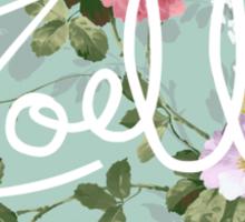 zoella Sticker