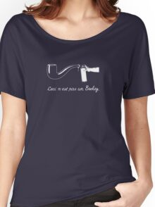 The Treachery of Copyright Images. Women's Relaxed Fit T-Shirt