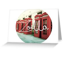 zoella Greeting Card