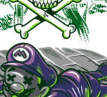 Poisonous Mushroom Sticker