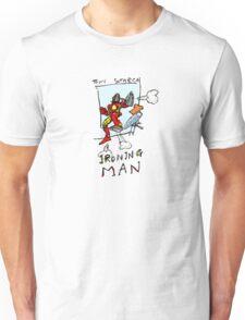 Ironing Man Unisex T-Shirt