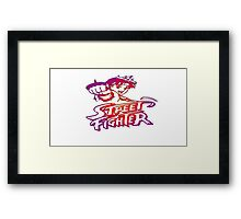 Sakura Street Fighter Framed Print
