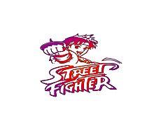 Sakura Street Fighter Photographic Print