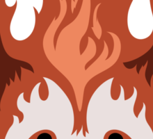 Legend of Korra: Fire Ferrets Pro Bending Emblem Sticker
