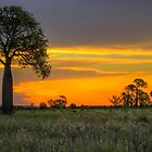 Sunset at Moura by Steve Bass
