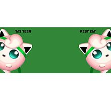 Melee Jigglypuff Rest 'Em Photographic Print