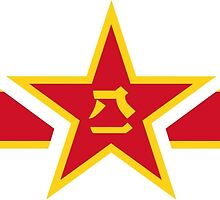 Roundel of the People's Liberation Army Air Force  by abbeyz71