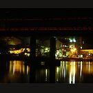Harwood Bridge by Norman Winkworth