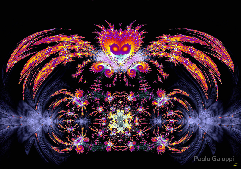 Fractal Bird by Paolo Galuppi