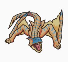 Tigrex! The Roaring Wyvern! by bleachedink