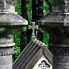 Cross in the Woods by Perspective