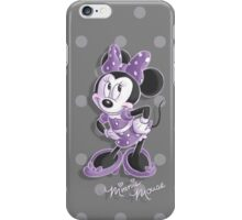 Miss Minnie iPhone Case/Skin