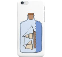 Ship in a Bottle iPhone Case/Skin