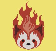 Legend of Korra: Fire Ferrets Pro Bending Emblem - no text Kids Clothes
