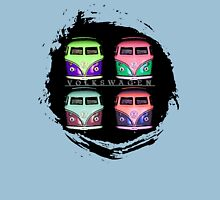 Pop Kombi Splat VW T-shirt Unisex T-Shirt