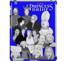 the Princess Bride character collage iPad Case/Skin